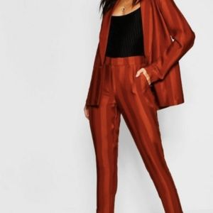 BooHoo Striped Tailored Trousers